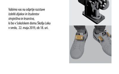Odprtje razstave izdelkov dijakov ŠC Škofja Loka – 22. 5. 2019