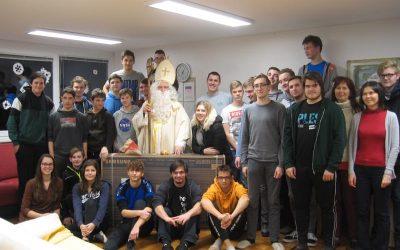 Sv. Miklavž v dijaškem domu – 5. december 2019