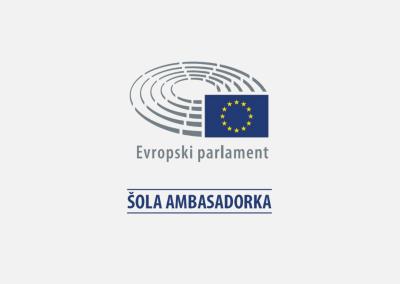 Šola ambasadorka Evropskega parlamenta in Evrošola