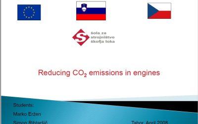 Enersol 2008 – Zmanjševanje CO2 emisij v motorjih