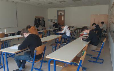 Tekmovanje v znanju matematike 2021 na Srednji šoli za strojništvo