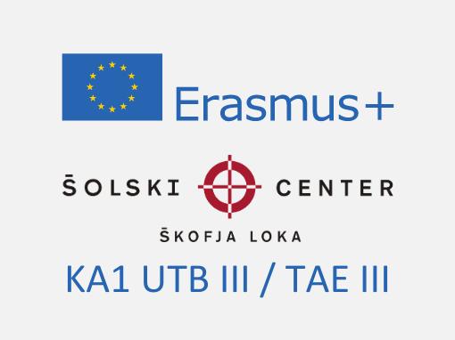 Erasmus+: KA102 Usposabljanje v tujini bogati III