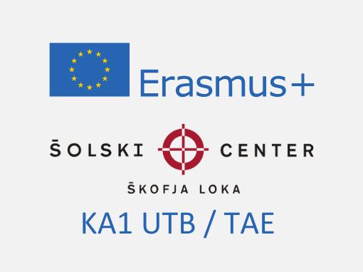 Erasmus+: KA1 Usposabljanje v tujini bogati I