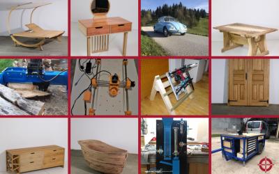 Nagrajeni izdelki dijakov strojništva in lesarstva 2021