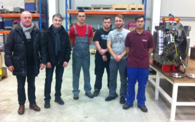 Naši dijaki na PIU v podjetju Wiegand v Nemčiji