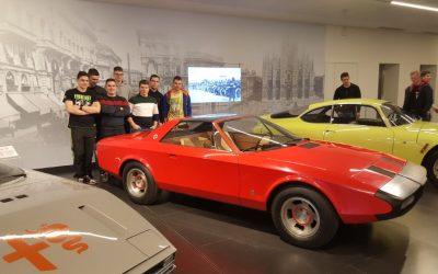 Strokovna ekskurzija na avtosalonu v Ženevi in muzej Alfa Romeo