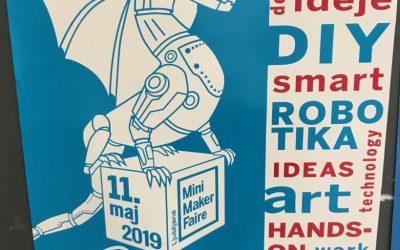 UIL ŠC Škofja Loka na Maker Fairu